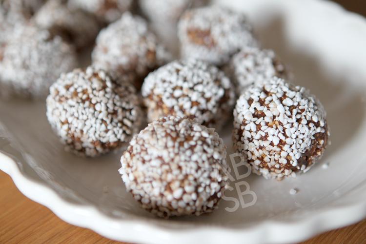 Swedish Chocolate Balls Svenska Chokladbollar American Bred